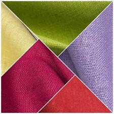 """100% Plain Indian Linen Dress Fabric 52"""" Wide MK899 Mtex"""