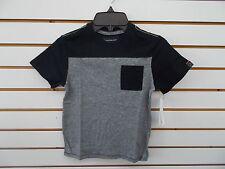 Boys Calvin Klein Jeans $24 Black & Black Heather T-Shirt Size 4 - 7X