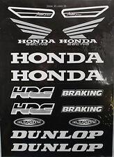 HONDA Decal Sticker ATV Dirt Bike Motorcycle Helmet Off-road XR CRF 50 70 9 DE58