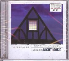"""LIFESCAPES MOZART """"NIGHT MUSIC"""" MOTZART CLASSICAL NEW!!"""