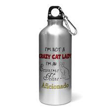 Im Not A Crazy Cat Lady Im An Eccentric Feline Aficionado Aluminium Water Bottle
