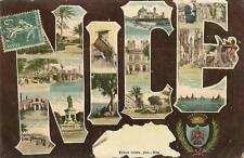 NICE CARTE TOURISTIQUE EDITION GILETTA