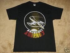 Journey Spaceship Large Black T-Shirt