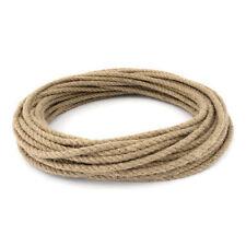 Natural Jute Rope DIY Craft Twisted Twine Braided Cord String Price Per Metre