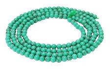 😏 Türkis Kugeln Saatperlen 2 & 3 mm Edelstein Perlen Strang turquoise beads 😉