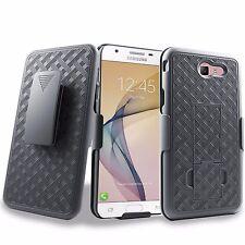 For Samsung Galaxy J7V, J7 Perx, J7 Sky Pro, (2017) Holster Shell Belt Clip Case