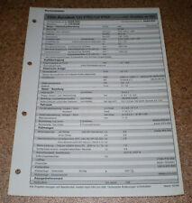 Inspektionsblatt Honda Civic Aerodeck 1,5i Vtec/LS 98!