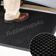 FINGER-TIP Heavy Duty Strong Entrance Rubber Door Mat Safe Anti Slip Doormats