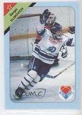 1992 Red Ace Russian Hockey Stars #30 Sergei Klimovich Dynamo Moscow (KHL) Card