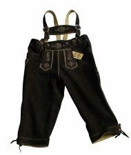 Original Trachten-Kniebundhose WILDBOCK Fb. hasel 100% echtes Leder Gr. 44 - 60