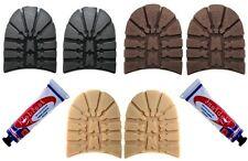 Lumberjack caminar Tacones & Pegamento Para Hombre hágalo usted mismo Soles Tacones 7mm De Espesor zapato reparación de arranque
