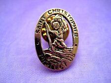 PICK YOUR PIN Saint St Gold Lapel Pin Medal Patron Religious