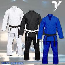VANS BJJ Gi Full Blank Brazilian Jiu Jitsu Kimono MMA Grappling Martial Arts