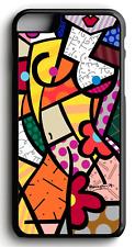 ROMERO BRITTO COLOR ART #2 Phone Case For Iphone | Samsung | LG | Pixel 3