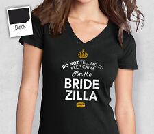 Bride Zilla T Shirt Bridal Gift Present Hen Do Wedding Party