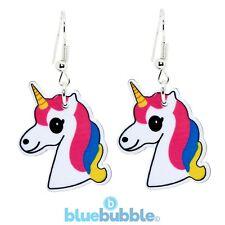 Bluebubble I AM A UNICORN Earrings Funky Fantasy Magic Animal Cute Kitsch Kawaii