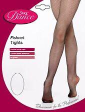 Silky Dance Essentials Fishnet Ballet Tights Black or Tan Small Medium Large XL