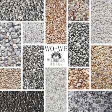 Steinteppich Set Marmorkies Bodenbeschichtung Steinboden W730 25Kg für 2qm