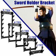 Wall Mount Samurai Sword Katana Stand Holder Assembled Hanger Display Rack Hot