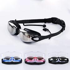 Occhialini Miopia Nuoto da 0 a - 800 piscina mare anti appannaggio filtri UV
