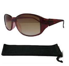 Lettori Sole Donna Borgogna Designer TINTED occhiali da lettura lente protetto UV 604