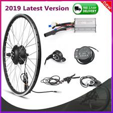 "Electric Bicycle Conversion Kit KT900S LED Display 20"" 26"" 700C Wheels Hub Motor"