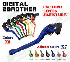 Adjustable Long Brake Clutch Levers For Suzuki GS500F 04-09 GSF600 BANDIT 95-99