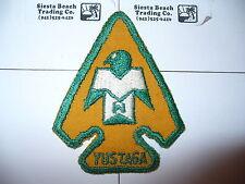 OA Yustaga Lodge 385,A-1, 1948, 1st Patch,Arrowhead,Gulf Coast Cncl,Pensacola,FL