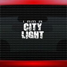 City Light #1 Christian Car Decal Truck Window Vinyl Sticker Rap (20 COLORS!)