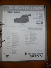 Service-Manual Sony CCD-AU230/F350E Handycam ORIGINAL