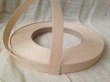 Maple Wood Veneer Pre Glued Iron on EdgingTape/Banding 18mm 22mm 30mm 40mm 50mm