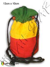 Bourse Monedero Borsa Geldbeutel Purse Rasta Reggae 10x13 cm