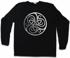 CELTIC CIRCLE LANGARM T-SHIRT Celts Cross Religion Sign Symbol Kelten keltisch