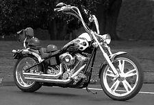 Excelente Lona Motocicleta Clásica #50 Retro Moto A1 Bici Arte Colgante De Pared