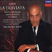 Verdi: La Traviata (CD, Jul-1995, 2 Discs, London) (cd304)