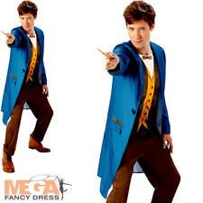 Newt Scamandro da uomo fancy dress Fantastic BESTIE Film Carattere Costume Outfit
