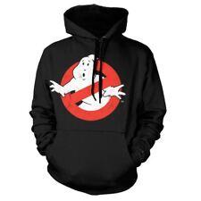Logotipo oficial de aspecto envejecido de los Cazafantasmas No Ghost Con Capucha Suéter-Varios Tamaños