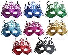 Venetian Metallic Plastic Glitter Masquerade Mask Halloween Costume Cosplay Prom