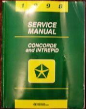 1998 Dodge Concorde and Intrepid Service Manual 98