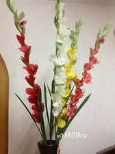 Artificial plants & flowers wedding flower Gladioli Gladiolus stem F59