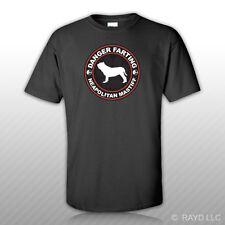 Danger Farting Neapolitan Mastiff T-Shirt Tee Shirt Free Sticker dog canine