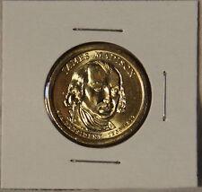 James Madison 2007 D Presidential Dollar Coin Uncirculated BU Denver