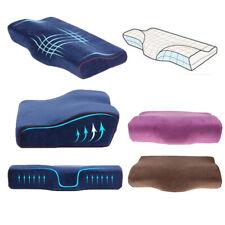 Cervical Spine Side Sleeping Pillow Cushion Neck Back Spine Pain Memory Foam