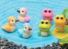 IWAKO Japanese Novelty Puzzle Eraser Rubbers - IWAKO Frog and Duck Erasers