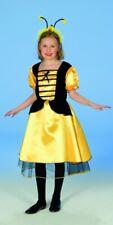 Bienen Kleid Faschingskostüm für Mädchen - Party Karneval