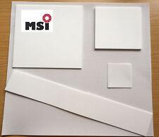 100€/m² PTFE Teflon Zuschnitt Platte Folie Dicke 1,5 / 1 / 0,5 /0,25mm Dichtung