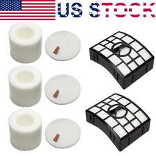 5PK Foam Felt Filter for Shark XFF//XFH650 NV650 NV651 NV652 NV750 NV752 NV753