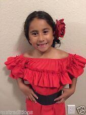Mexican Girl Children Blouse 5 de Mayo Fiesta.Blusa Fiesta Mexicana para Niña