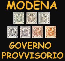 1859 Ducato di Modena Governo Provvisorio Stemma di Savoia