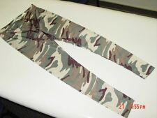 NWT Junior Womens Derek Heart Leggings Camouflage Green Trendy Army Color Look